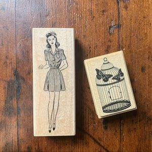Other - Wooden Stamp Set